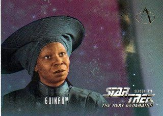 Star Trek Next Generation Episode Sea 5 Guinan   Whoopi Goldberg #516 Single Trading Card