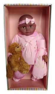 "Molly P. Original Baby Doll with Accessories and Daisy Bear, 18"": Toys & Games"