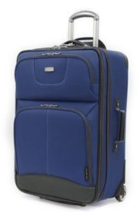 Ricardo Beverly Hills Luggage Valencia Lite 25 Inch 2 Wheeled 2 Compartment Upright, Chanterelle, One Size: Clothing