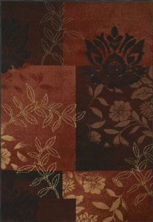 Dalyn Rugs Carlisle CR3121 4 Feet 11 Inch by 7 Feet Area Rug, Black