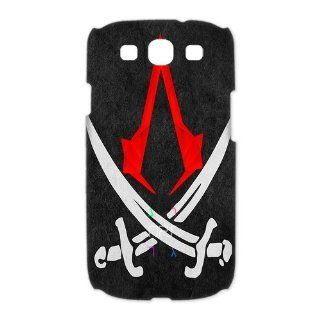 Custom Assassins Creed iv Black Flag 3D Cover Case for Samsung Galaxy S3 III i9300 LSM 174: Cell Phones & Accessories