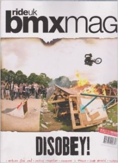 Ride Uk Bmx Magazine September 2012 Number 167 (Disobey) Various Books