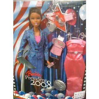 2008 Barbie for President Doll AA: Toys & Games