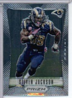 2012 Panini Prizm # 181 Steven Jackson   St. Louis Rams   NFL Football Trading Card: Sports Collectibles