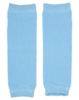 (183) NEWBORN solid blue baby boy or girl leg warmers   up to 15 pounds: Clothing