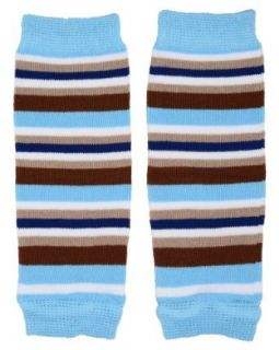 (181) NEWBORN Braxton Stripe baby boy leg warmers   up to 15 pounds: Clothing