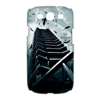Custom Assassins Creed 3D Cover Case for Samsung Galaxy S3 III i9300 LSM 181: Cell Phones & Accessories