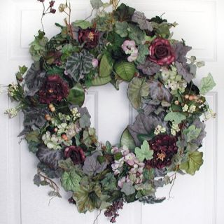 22 in. Sasha Wreath   Wreaths
