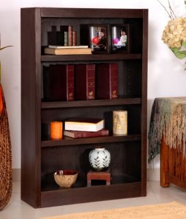 Concepts in Wood Espresso MI3048 E Single Bookcase   Bookcases
