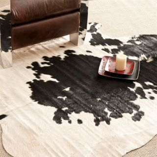 Safavieh COH211B 5 Cow Hide Rug   Black / White   4.5 x 6.5 ft.   Area Rugs