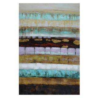 Yosemite Home Decor Layers II Wall Art   31.5W x 47.5H in.   Hand Painted Art