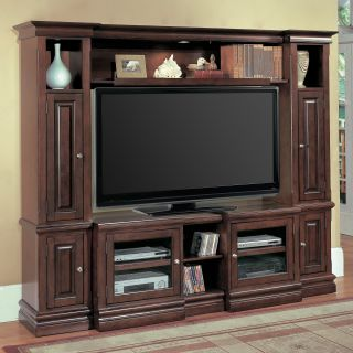 Parker House Sterling Expandable Space Saver Entertainment Center   Entertainment Centers