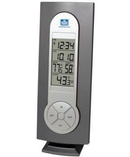 La Crosse Technology Atomic Clock and WS 7215TWC IT CBP Wireless Thermometer   Weather Stations