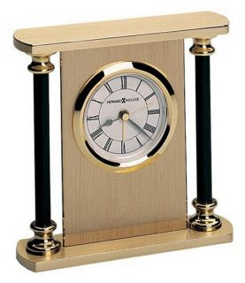 Howard Miller Casey Desktop Clock   Alarm Clocks