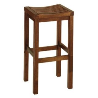 Home Styles Parker 29 in. Backless Wood Bar Stool   Bar Stools