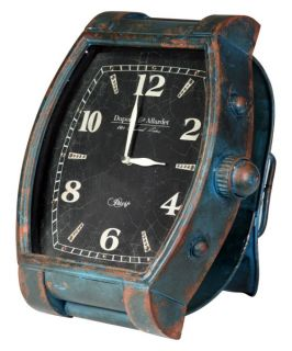 Verdi Colored Iron Wrist Watch Clock   13.25W x 15H in.   Desktop Clocks