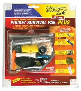 Adventure Medical Pocket Survival Pak Plus   Emergency Kits