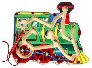 Anatex Magnetic Train Maze   Learning Aids