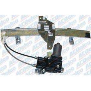 2004 2009 Cadillac SRX Window Regulator   AC Delco, Direct fit, New, Power with motor