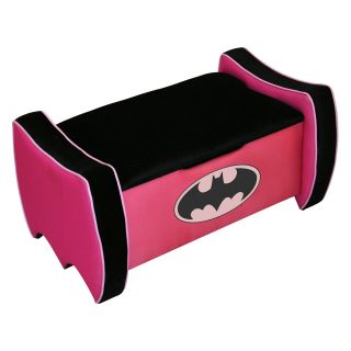 Warner Brothers Batgirl Toy Box   Toy Chests
