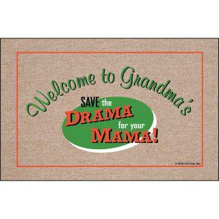 Save the Drama for Your Mama Indoor/Outdoor Doormat   Outdoor Doormats