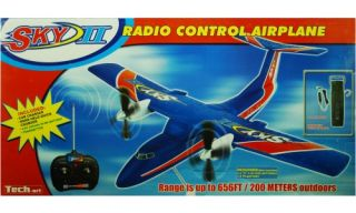 Golden Bright Sky 2 Radio Controlled Airplane   Blue   Vehicles & Remote Controlled Toys