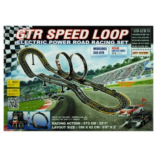 Golden Bright Electric Power GTR Speed Loop Road Racing Set   Vehicles & Remote Controlled Toys