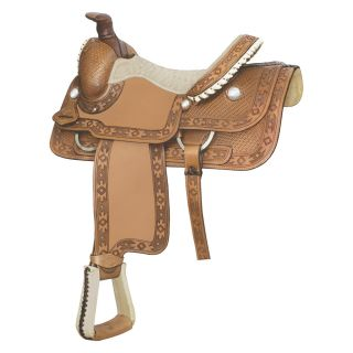 Billy Cook Saddlery Half Breed Southwest Roping Saddle   Western Saddles and Tack