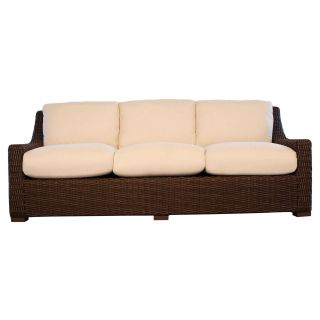 Lloyd Flanders Mesa All Weather Wicker Sofa   Patio Chairs