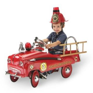 Morgan Cycle Fire Engine Pedal Car   Pedal Toys