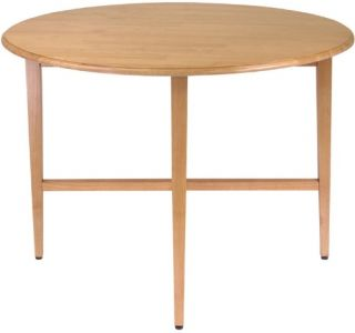 Round Drop Leaf 42 Inch Gate Leg Table   Dining Tables