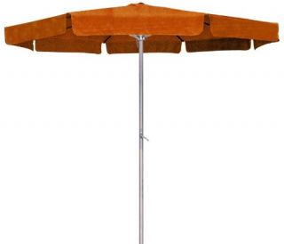 International Caravan Mesa 8 ft. Aluminum 6 Rib Patio Umbrella   Patio Umbrellas