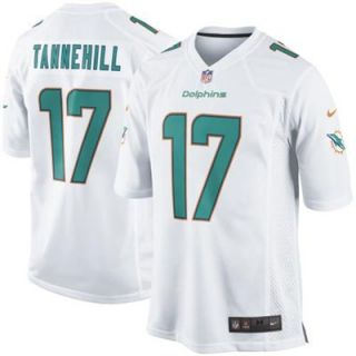 Nike Ryan Tannehill Miami Dolphins New 2013 Game Jersey   White