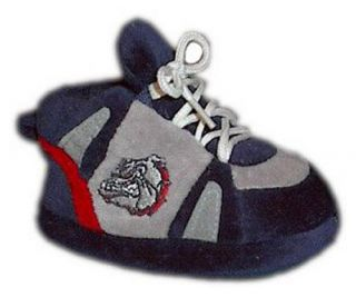 Comfy Feet NCAA Baby Slippers   Gonzaga Bulldogs   Kids Slippers