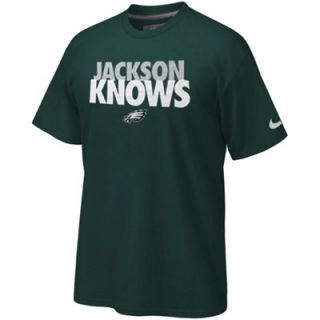 Nike Philadelphia Eagles Jackson Knows T Shirt   Midnight Green