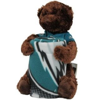 Northwest Philadelphia Eagles 40 x 50 Fleece Blanket with Bear