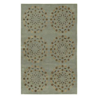Surya Bombay BST 428 Area Rug   Mint Green/Brown   Area Rugs