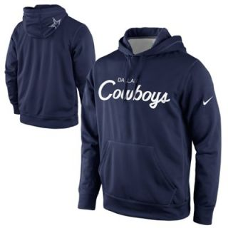 Nike Dallas Cowboys Salute to Service KO Pullover Performance Hoodie ... 0fe5517d3