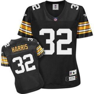 Reebok Pittsburgh Steelers Franco Harris Womens Throwback Premier Jersey