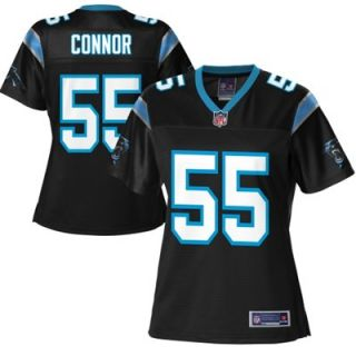Pro Line Womens Carolina Panthers Dan Connor Team Color Jersey