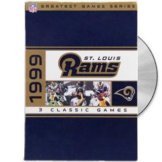 St. Louis Rams 1999 Greatest Games Series DVD