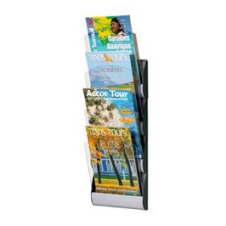 Maxi System 4 Pocket Letter Wall Display   Commercial Magazine Racks