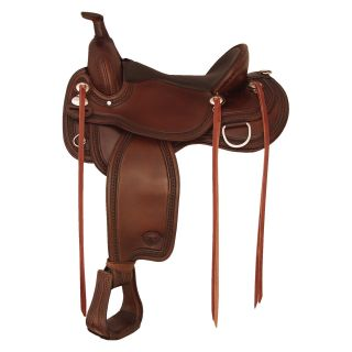 Tex Tan Wide Memphis Flex Trail Saddle   Western Saddles and Tack