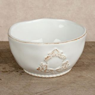 GG Collection Heirloom White Salad Bowl   Set of 4   Soup & Pasta Bowls