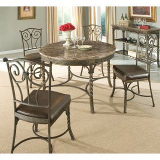 Standard Furniture Cristiano 5 Piece Round Dining Table Set   Dining Table Sets