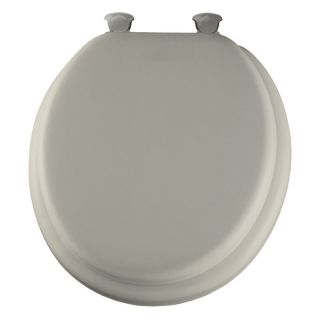Bemis B1800EC346 Elongated Closed Front Toilet Seat with Easy Clean & Change and Change Hinges in Biscuit   Toilet Seats