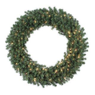 48 in. Douglas Fir Pre lit Christmas Wreath   Christmas Wreaths