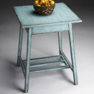 Butler Accent Table   French Blue   End Tables