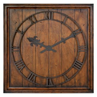 Garrison Reclaimed Look Wall Clock   31.5W in.   Wall Clocks