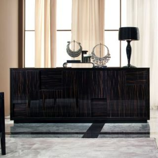 Nightfly Buffet   Ebony   Dining Accent Furniture
